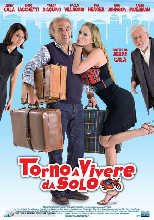 Torno a vivere da solo - Italian Movie Poster