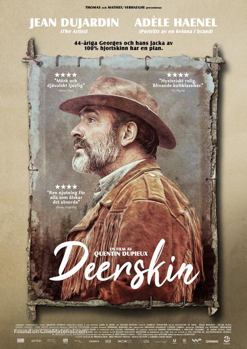 Le daim - Swedish Movie Poster