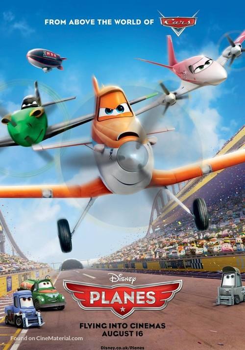 Planes - British Movie Poster