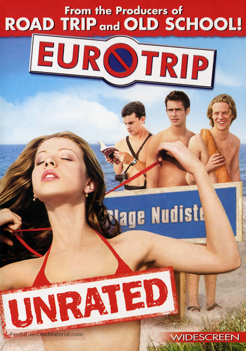 EuroTrip - DVD movie cover