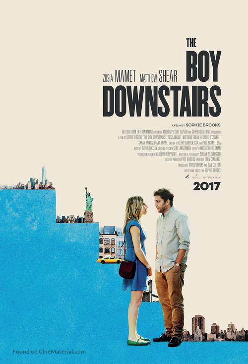 The Boy Downstairs - British Movie Poster
