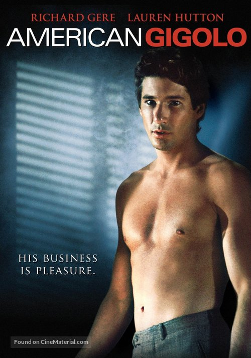 American Gigolo - DVD movie cover