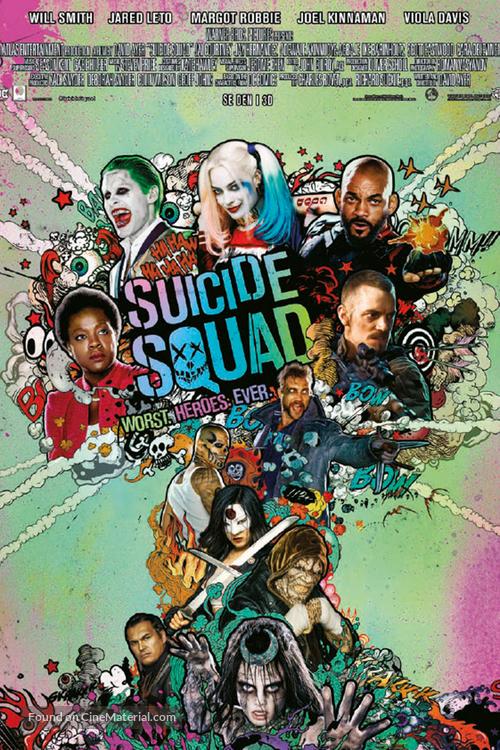 Suicide Squad - Norwegian Movie Poster