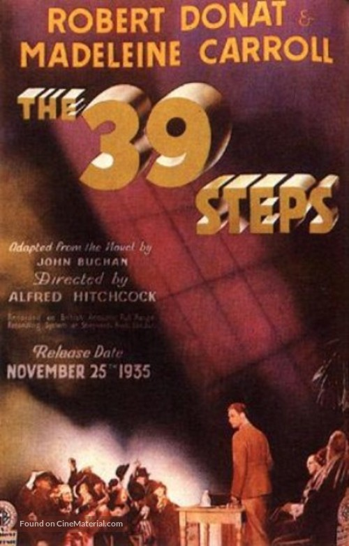 The 39 Steps - Movie Poster