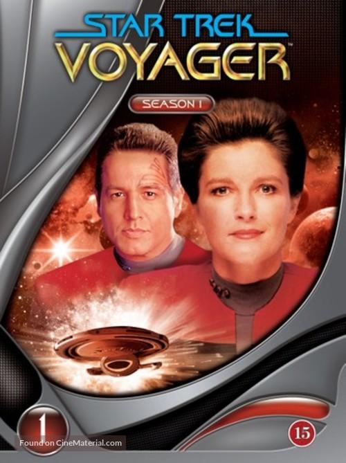 """Star Trek: Voyager"" - Danish DVD movie cover"