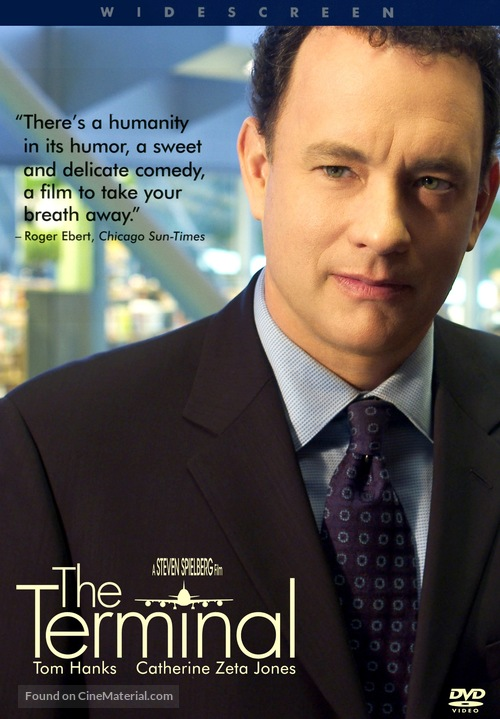 The Terminal 2004 Dvd Movie Cover