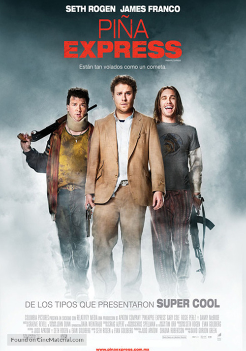 Pineapple Express - Mexican Movie Poster