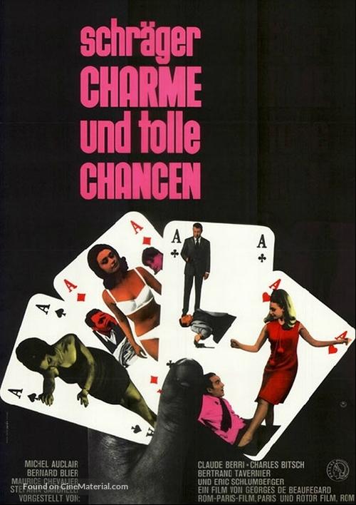 La chance et l'amour - German Movie Poster