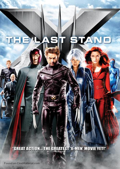 X-Men: The Last Stand - DVD movie cover