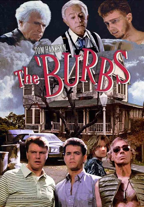 The 'Burbs movie cover
