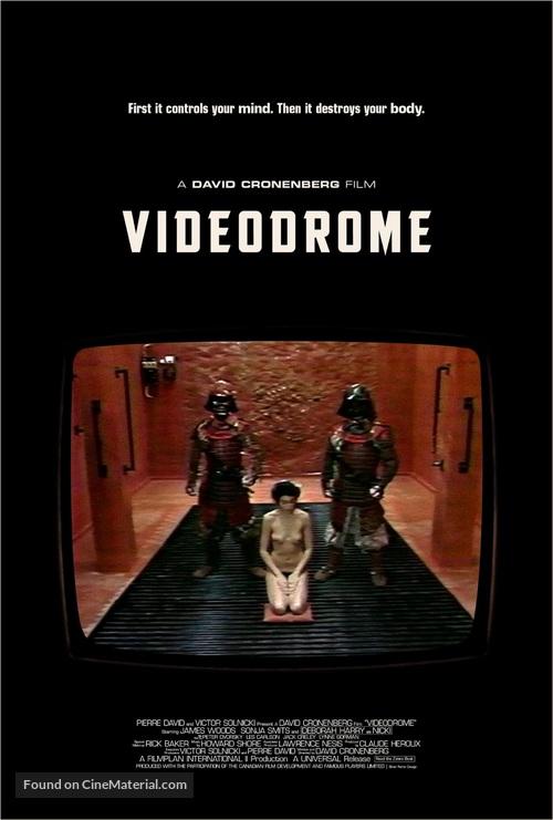 Videodrome - Movie Poster