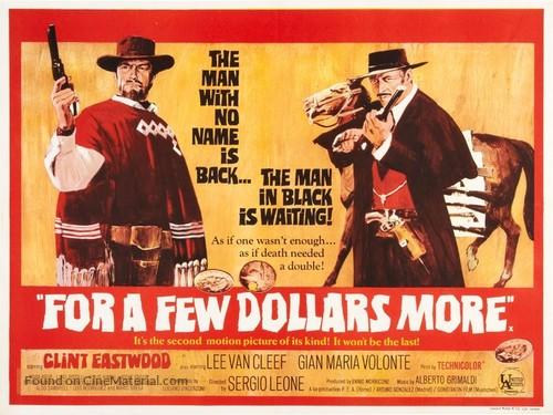 Per qualche dollaro in più - British Movie Poster