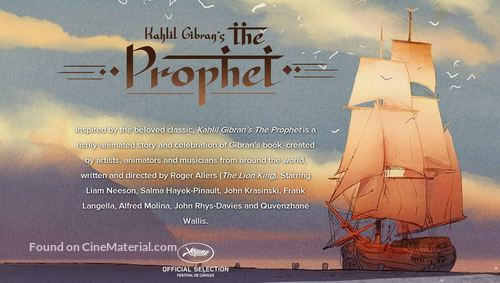 Kahlil Gibran's The Prophet - Movie Poster