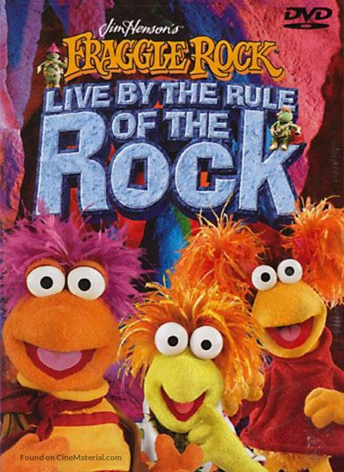 """""""Fraggle Rock"""" - DVD movie cover"""