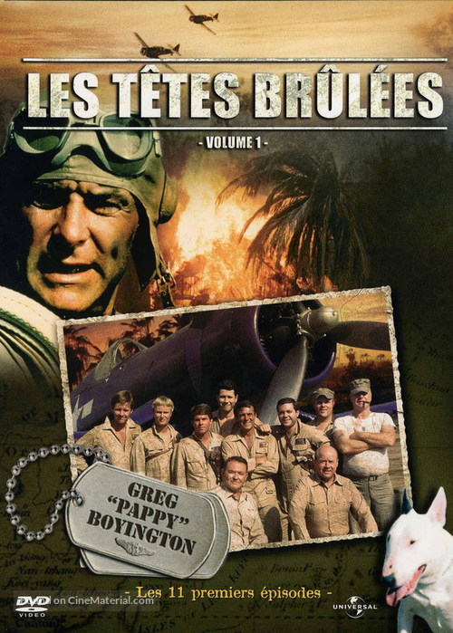 """Baa Baa Black Sheep"" - French Movie Cover"