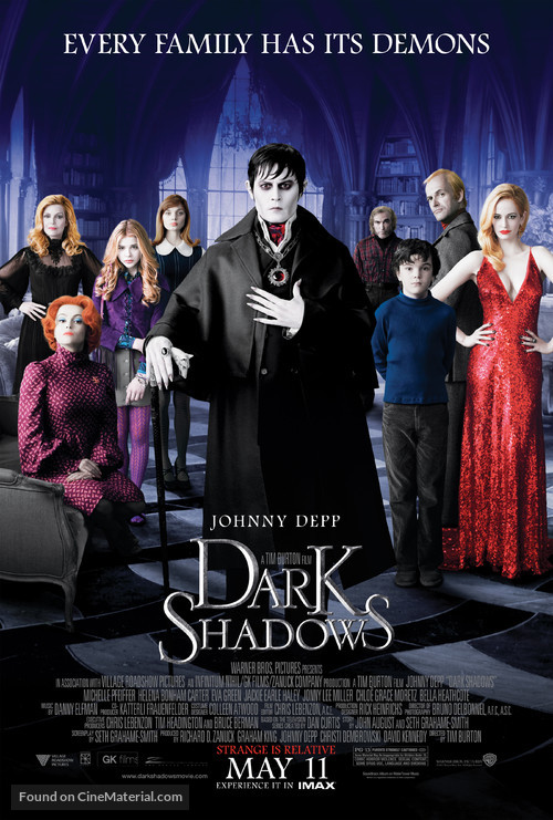 Dark Shadows - Movie Poster