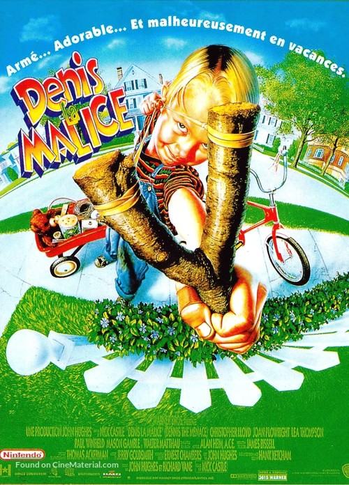 Dennis the Menace - French Movie Poster