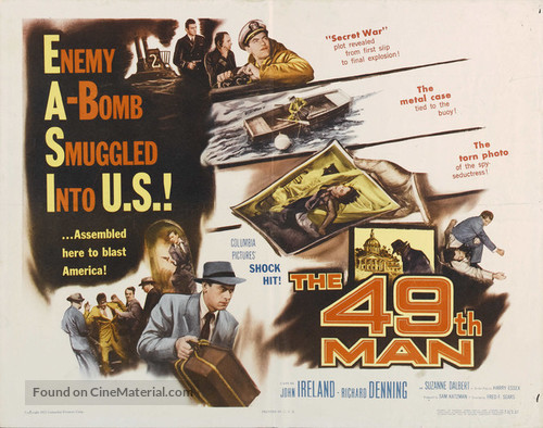 The 49th Man (1953) movie poster