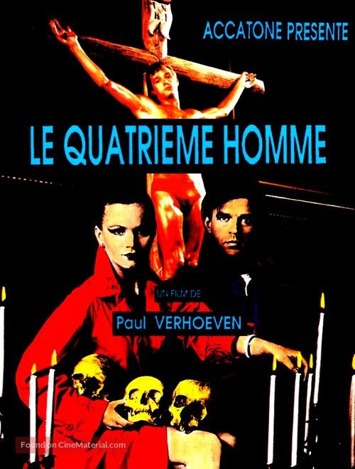 De vierde man - French Movie Poster
