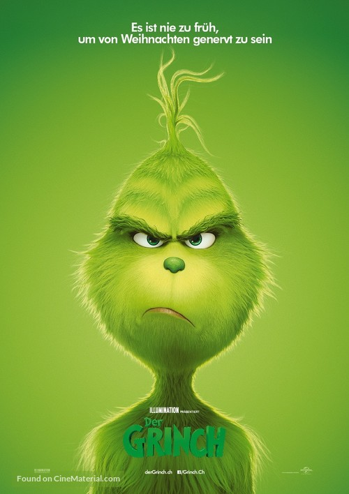 The Grinch - Swiss Movie Poster