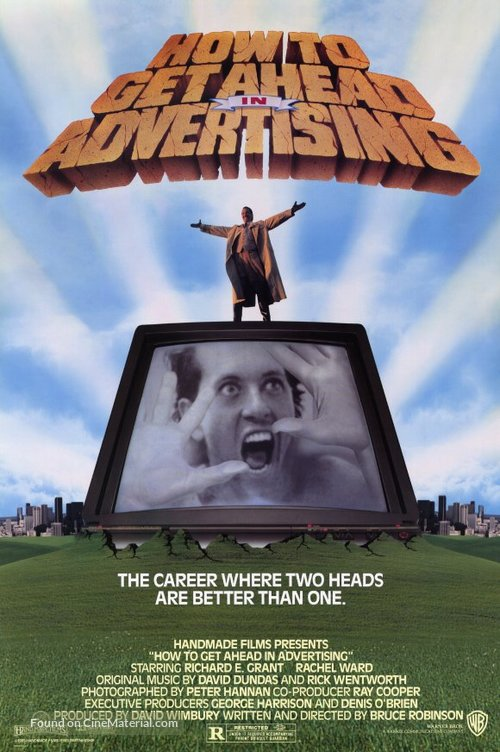 How to Get Ahead in Advertising - Movie Poster
