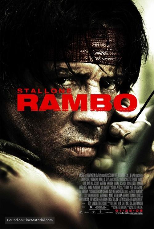 Rambo - Movie Poster