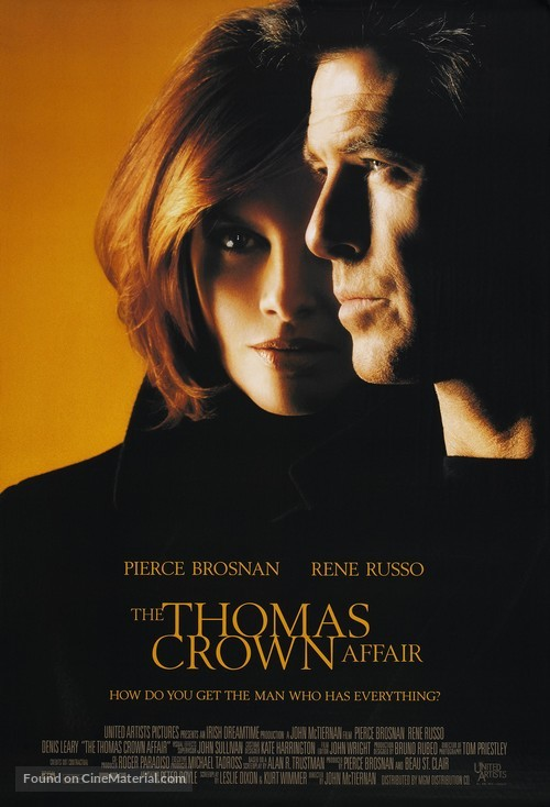 The Thomas Crown Affair - Movie Poster