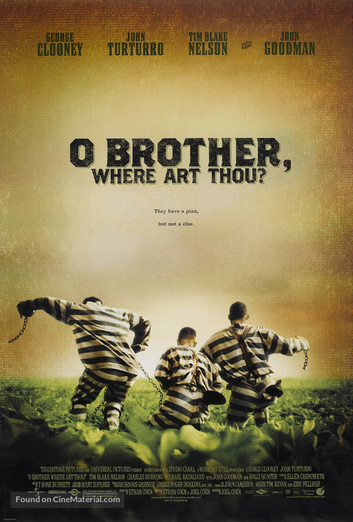 O Brother, Where Art Thou? - Movie Poster