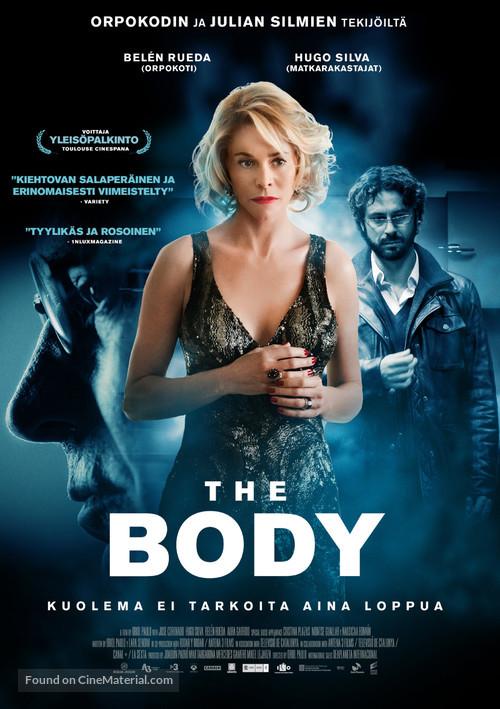 El cuerpo - Finnish Movie Poster