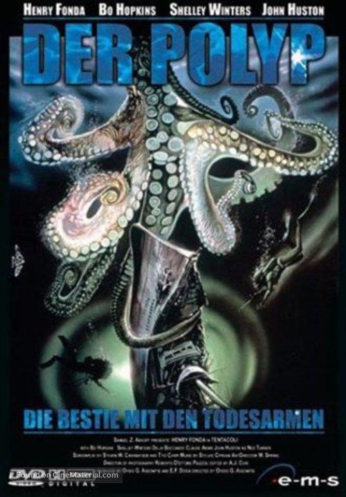 Tentacoli - German Movie Cover