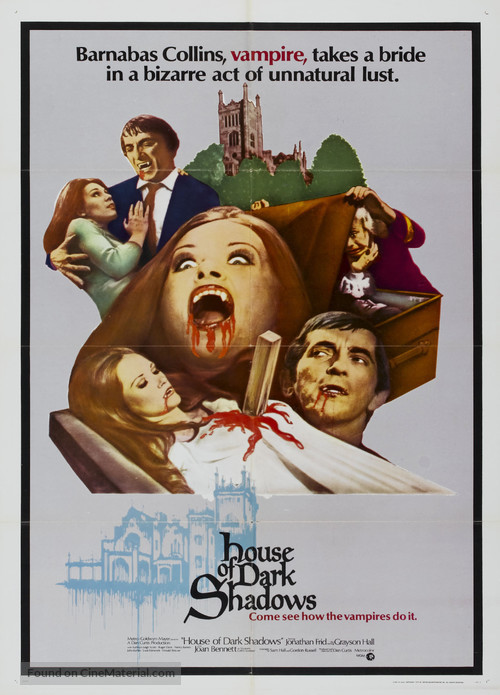 House of Dark Shadows - Movie Poster