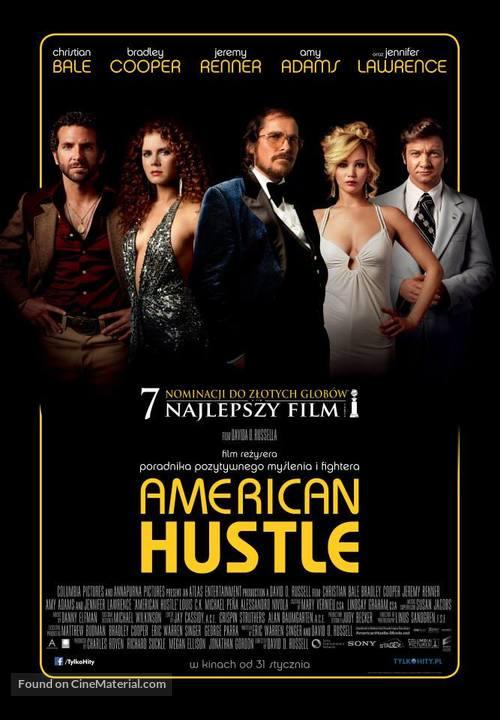 American Hustle - Polish Movie Poster
