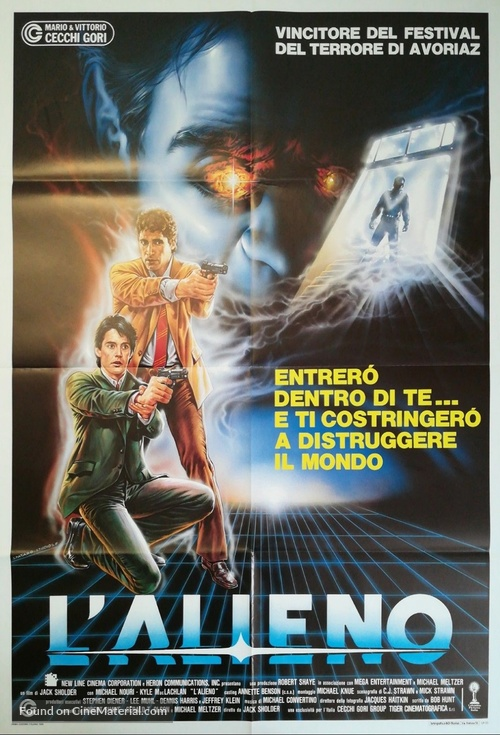 The Hidden - Italian Movie Poster