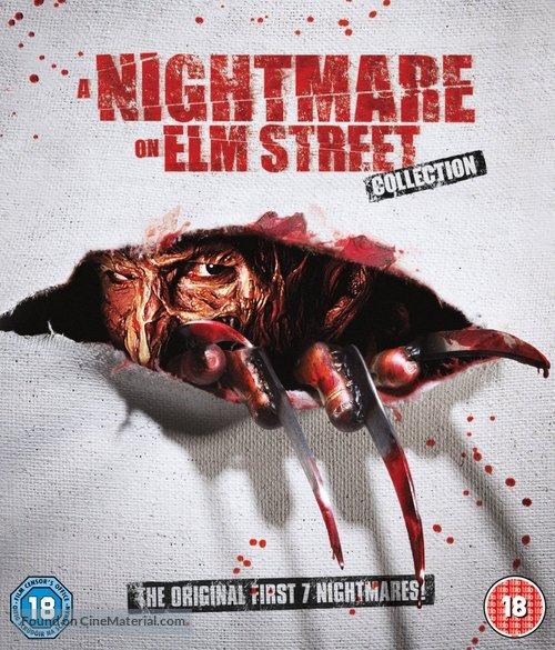 A Nightmare On Elm Street 3: Dream Warriors - British Blu-Ray movie cover