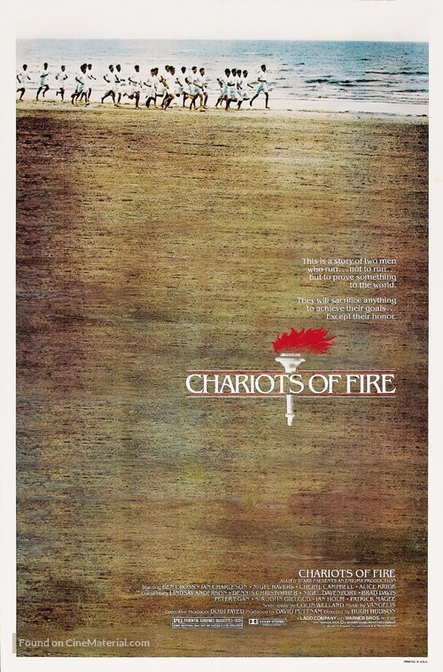 Chariots of Fire - Movie Poster