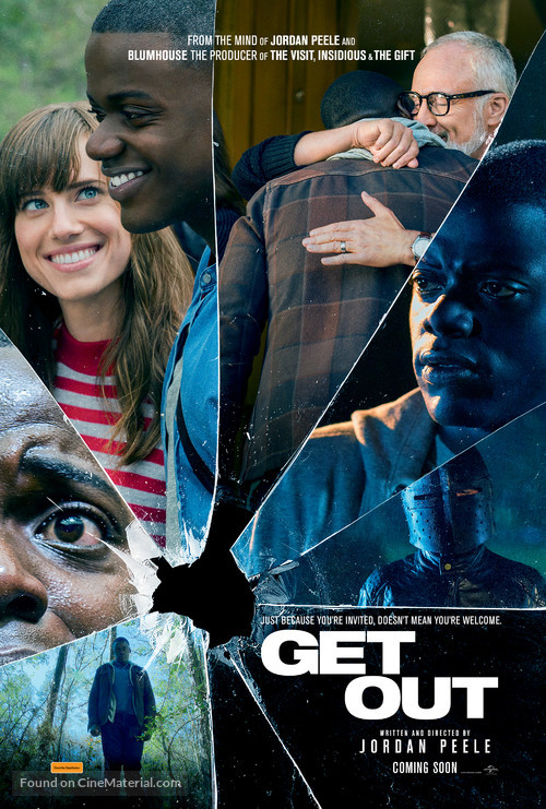 Get Out - Australian Movie Poster