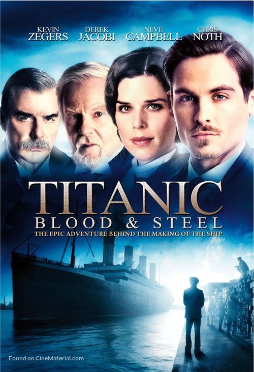 """""""Titanic: Blood and Steel"""" - DVD movie cover"""