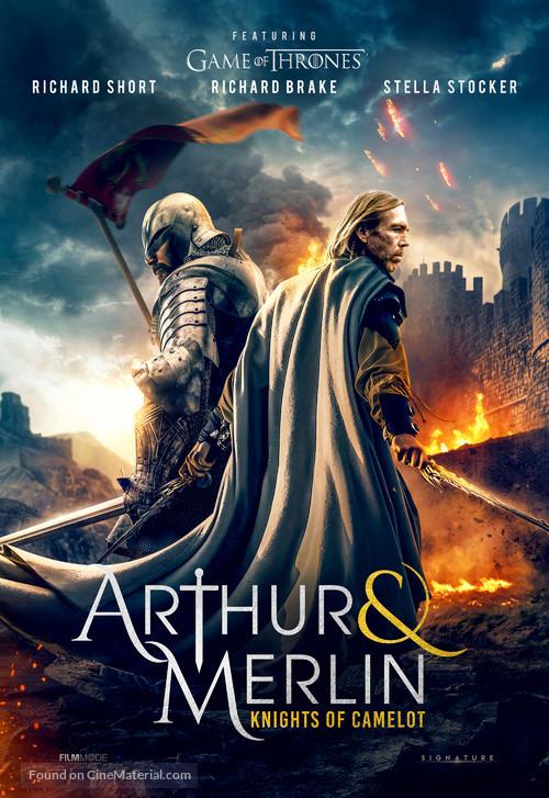 Arthur & Merlin: Knights of Camelot - British Movie Poster
