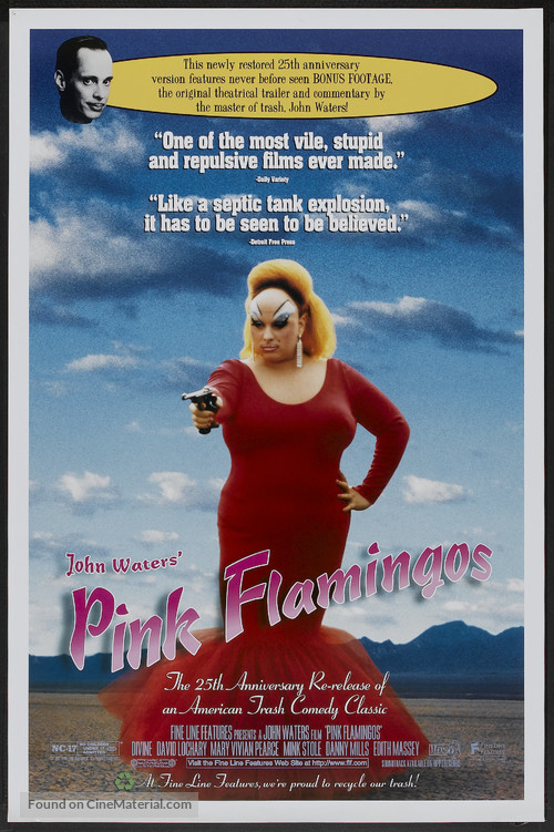 Pink Flamingos - Movie Poster