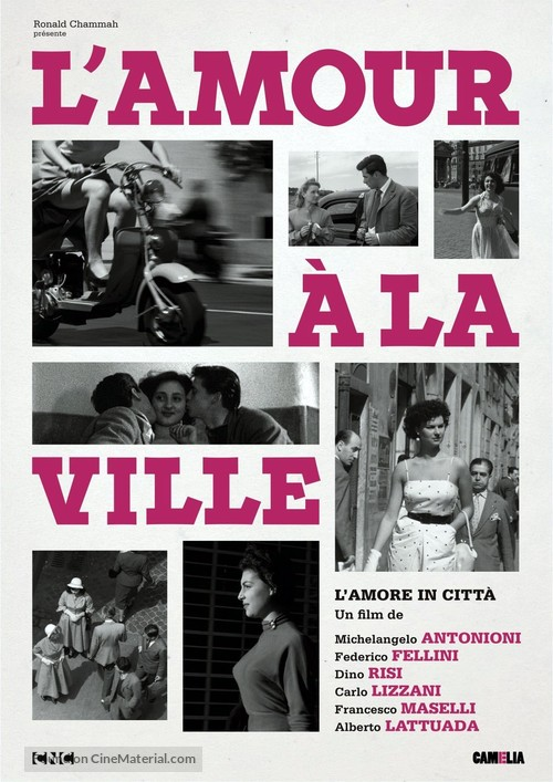 Amore in città, L' - French Re-release movie poster