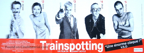 Trainspotting - French Movie Poster