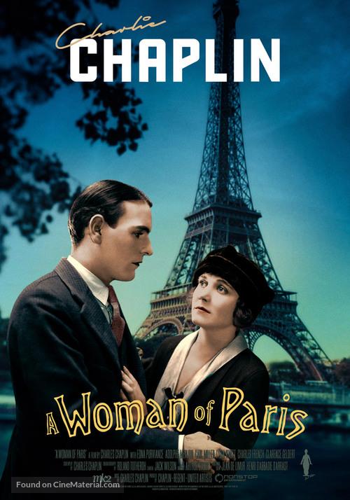 A Woman of Paris - Swedish Movie Poster