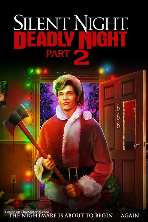 Silent Night, Deadly Night Part 2 - Blu-Ray movie cover