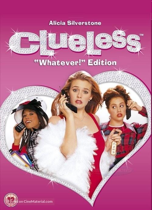 Clueless - British DVD movie cover