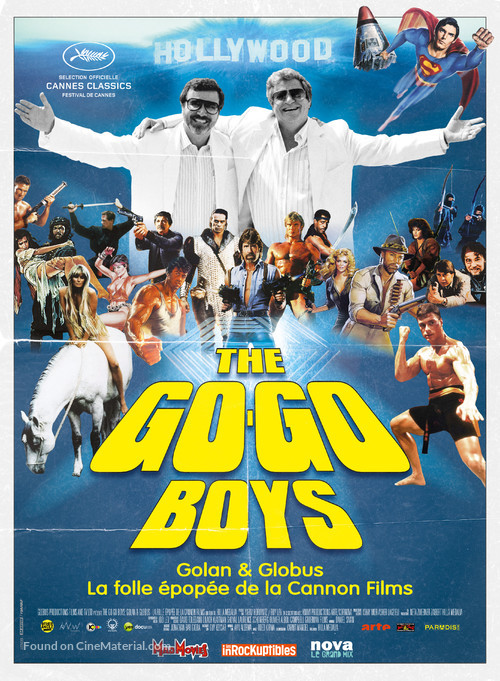 The Go-Go Boys: The Inside Story of Cannon Films - French Movie Poster