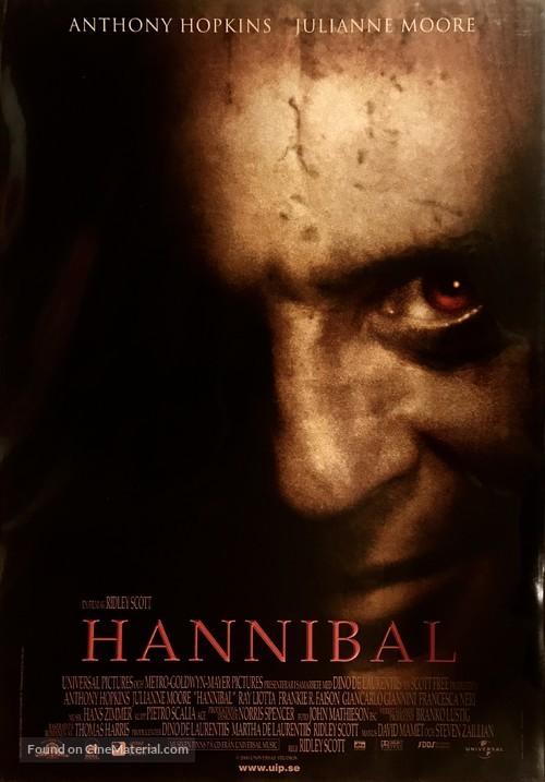 Hannibal - Swedish Movie Poster