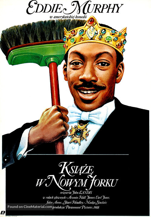 Coming To America - Polish Movie Poster