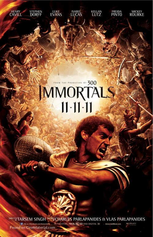Immortals - Movie Poster