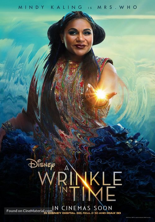 A Wrinkle in Time - British Movie Poster