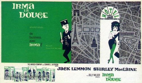 Irma la Douce - British Movie Poster